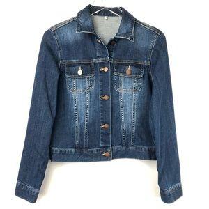Jackets & Blazers - Women's Stretch Fit Blue Jean Denim Jacket